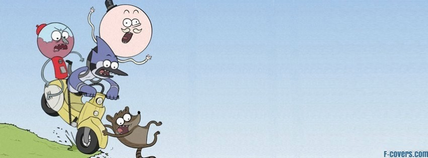 regular show facebook cover