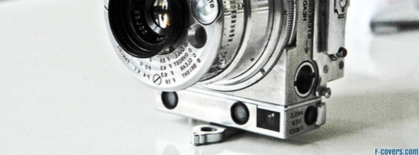 retro camera facebook cover