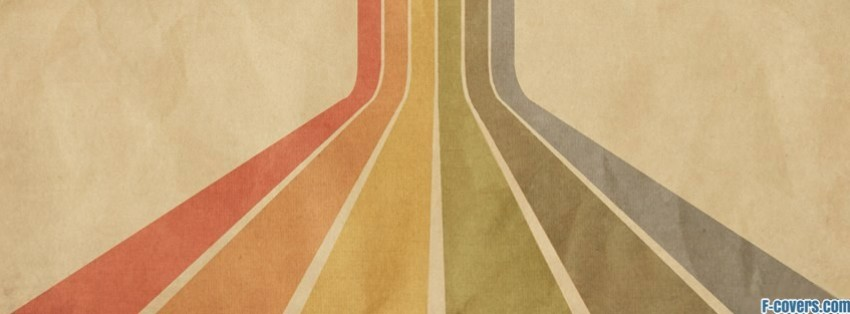 retro striped texture pattern facebook cover