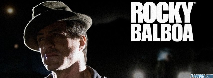 Rocky Balboa Facebook Cover Timeline Photo Banner For Fb