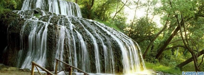 rolling waterfall monasterio de piedra zaragoza facebook cover