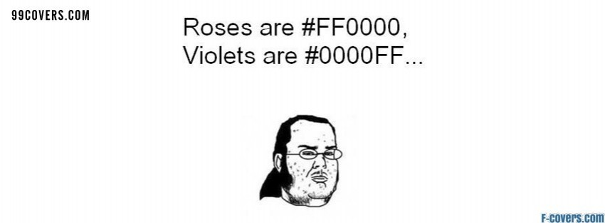 roses are facebook cover