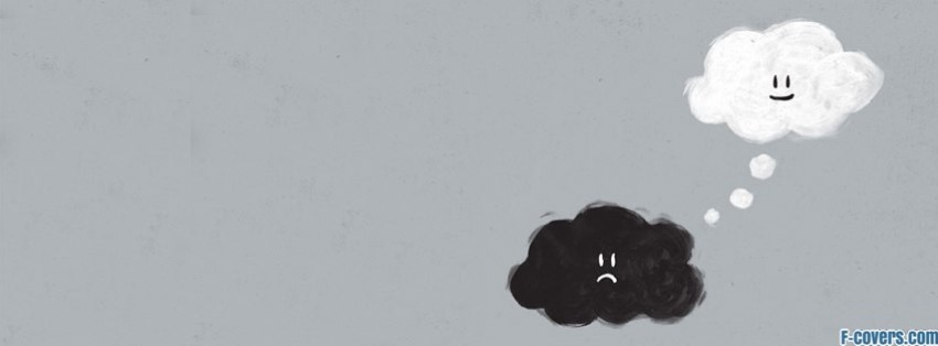 Sad Cloud Facebook Cover Timeline Photo Banner For Fb