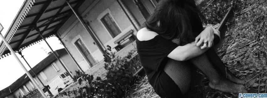 Sad Photography Black White Sad Girl Black And White
