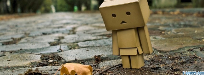 sad robot leaf facebook cover