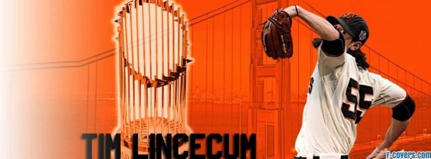 san francisco giants tim lincecum facebook cover