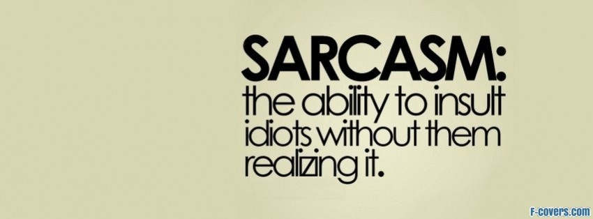Sarcastic pictures for facebook