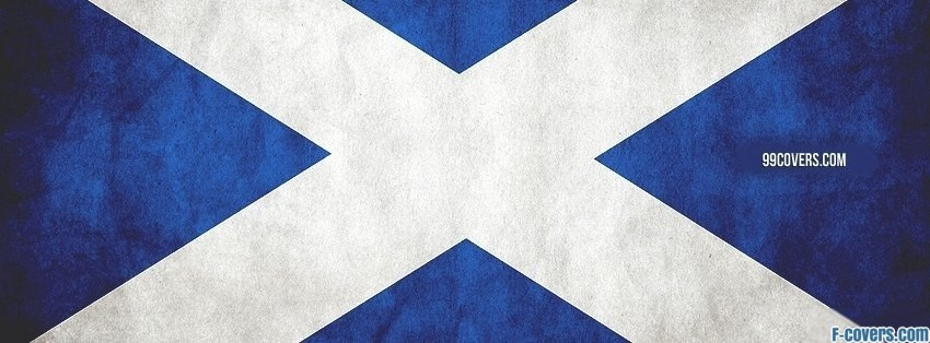 scottish flag facebook cover