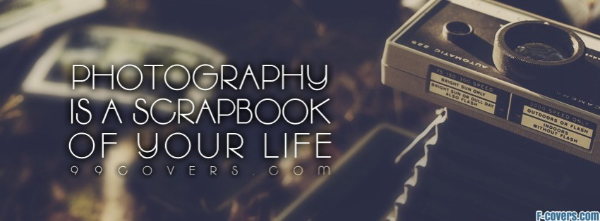 scrapbook of your life facebook cover
