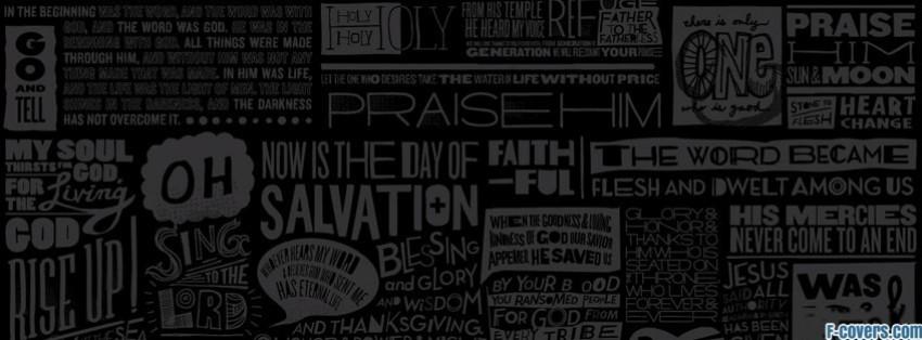scripture type facebook cover