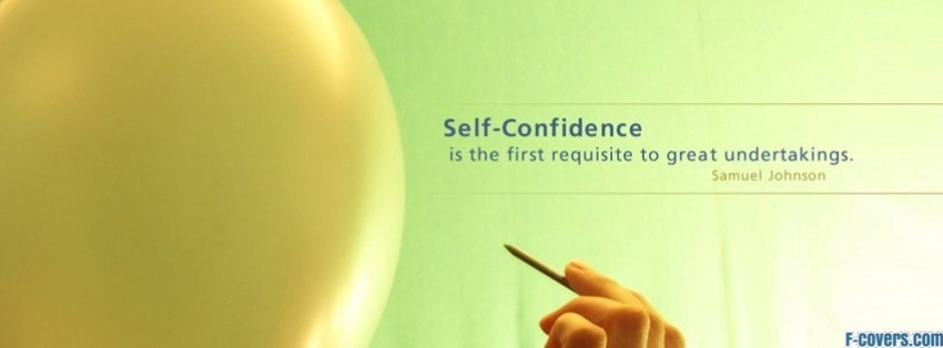 self confidence facebook cover timeline photo banner for fb