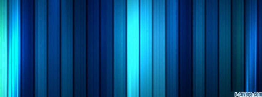 shades of blue stripes pattern facebook cover