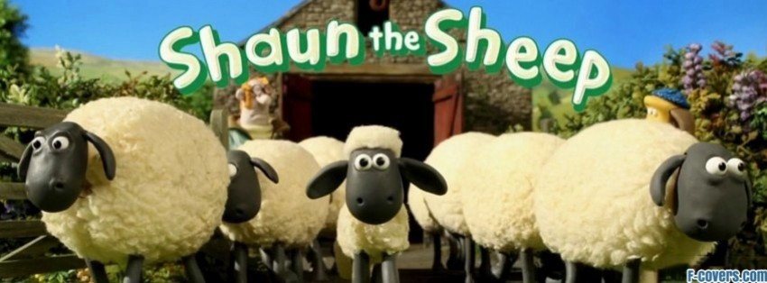 shaun the sheep facebook cover