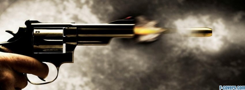 shooting revolver facebook cover