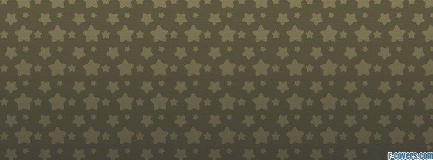 siam coloured rounded stars pattern facebook cover