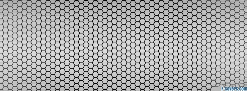 silver metal mesh pattern facebook cover timeline photo