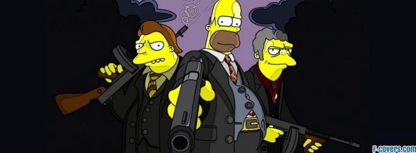 simpsons gangsta facebook cover