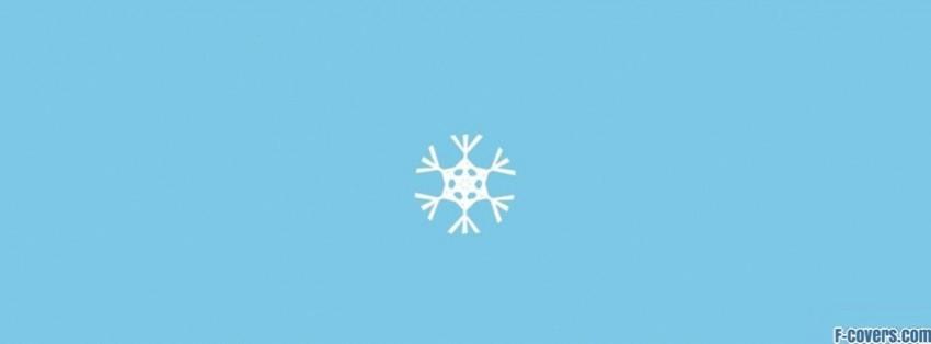 snow flake facebook cover