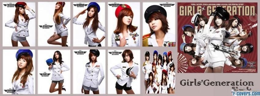 snsd genie facebook cover