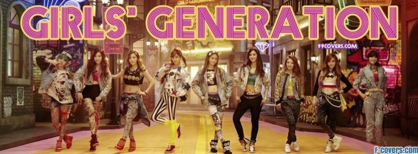 snsd i got a boy music video facebook cover