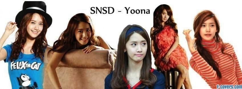 snsd yoona 2 facebook cover