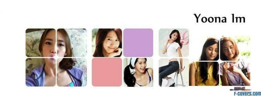 snsd yoona facebook cover