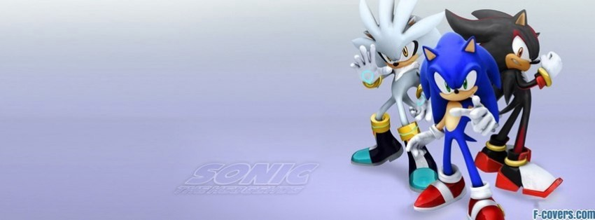 Sonic The Hedgehog Facebook Cover Timeline Photo Banner For Fb