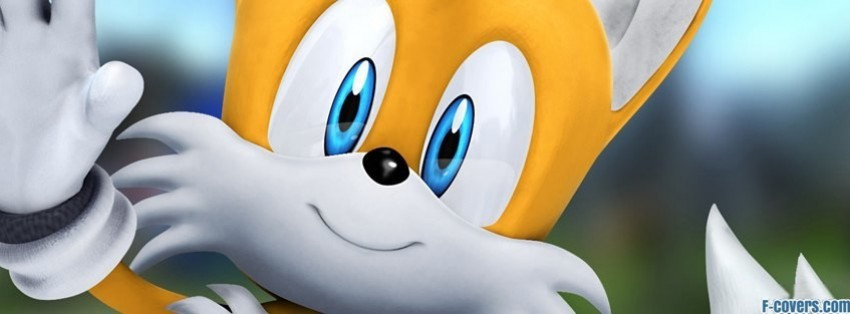 Sonic The Hedgehog Miles Tails Prower Facebook Cover Timeline Photo Banner For Fb