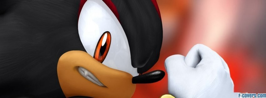 Sonic The Hedgehog Shadow The Hedgehog Facebook Cover Timeline Photo Banner For Fb