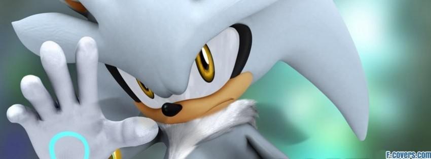 Sonic The Hedgehog Silver The Hedgehog Facebook Cover Timeline Photo Banner For Fb