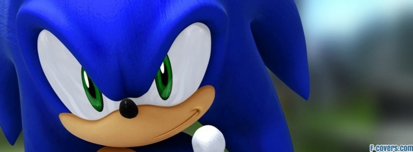 sonic the hedgehog Facebook Cover timeline photo banner for fb