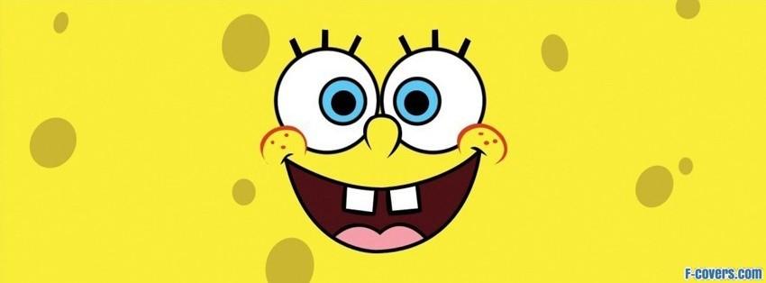 spongebob face facebook cover