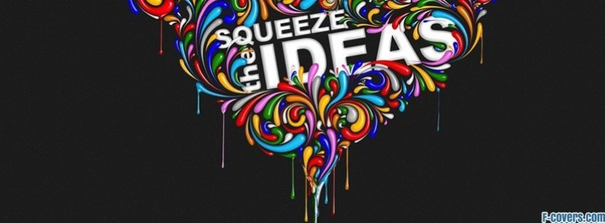 squeeze the ideas facebook cover