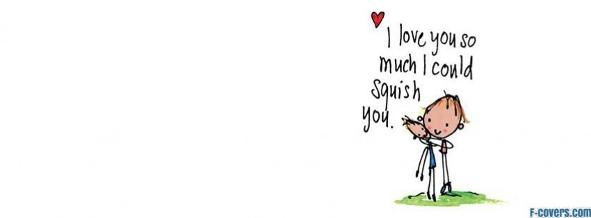 squish love facebook cover