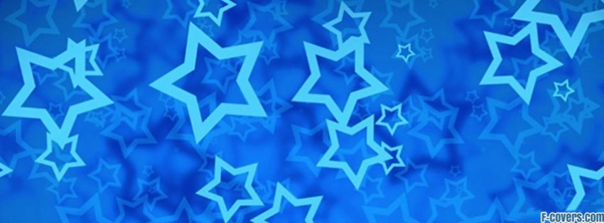 star blue facebook cover