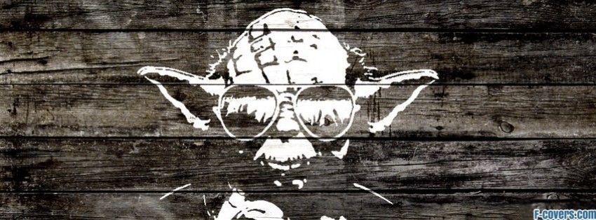 star wars banksy street art yoda facebook cover