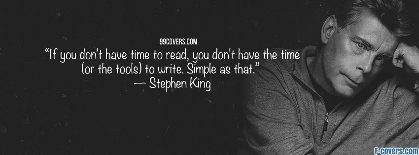 stephen king facebook cover