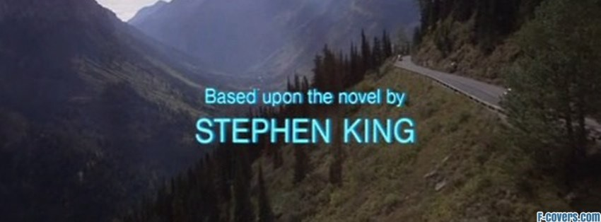 stephen king film capture facebook cover