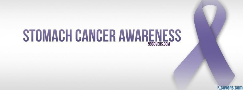 stomach cancer awareness facebook cover