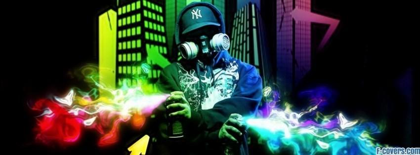 street graffiti facebook cover