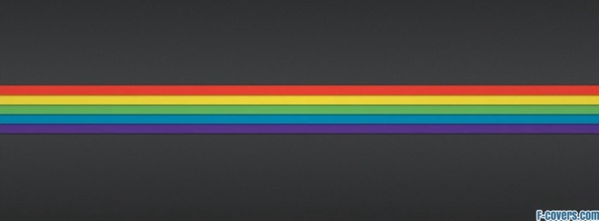 striped texture rainbow facebook cover