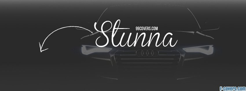stunna facebook cover