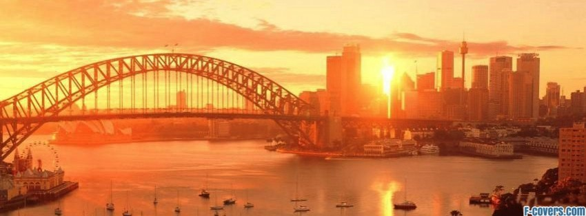 Sydney Australia Facebook Cover Timeline Photo Banner For Fb