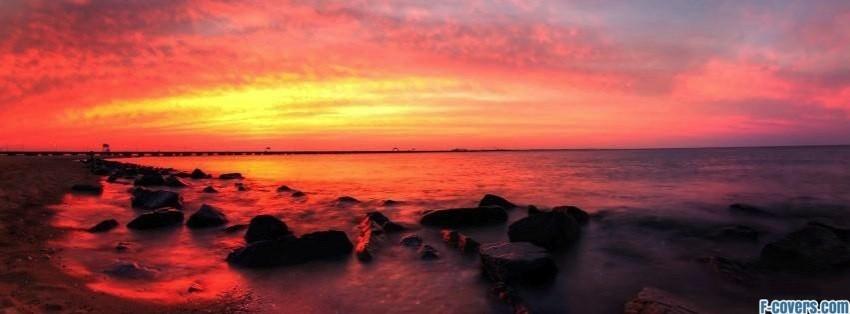 sunsets sunrises saturday sunset 2 facebook cover