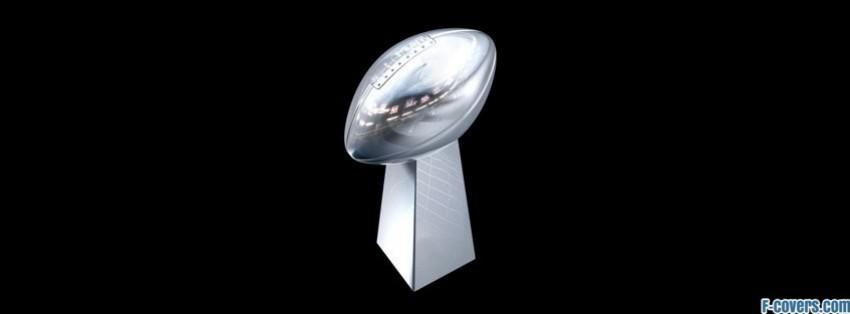 Superbowl Trophy Facebook Cover