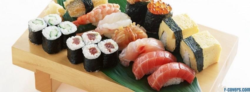 sushi facebook cover timeline photo banner for fb