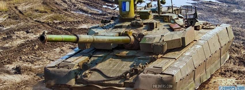 tank in desert facebook cover