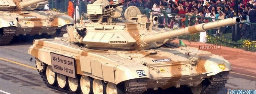 tank in parade facebook cover