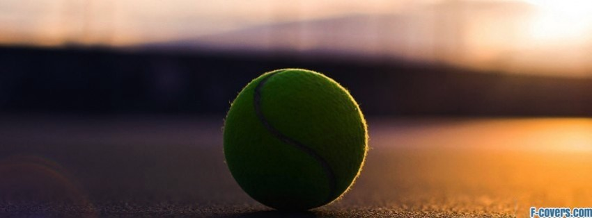 tennis ball facebook covers