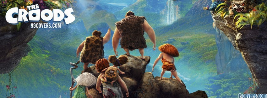 the croods 2013 movie facebook cover